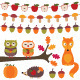 Autumn Vector Elements Set. - GraphicRiver Item for Sale