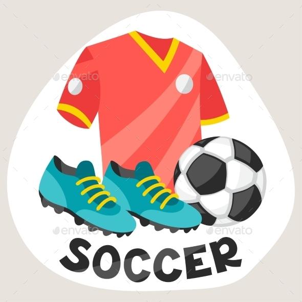 Soccer Symbols - Sports/Activity Conceptual