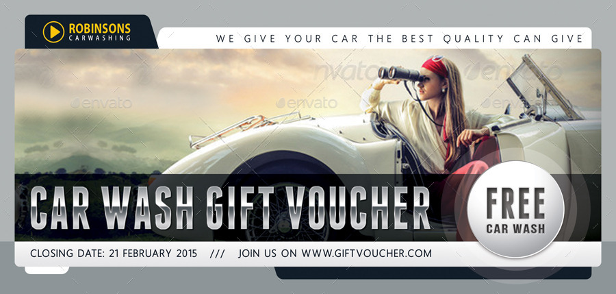 Car wash gift certificate template arts arts car wash gift voucher template v03 by rapidgraf graphicriver yelopaper