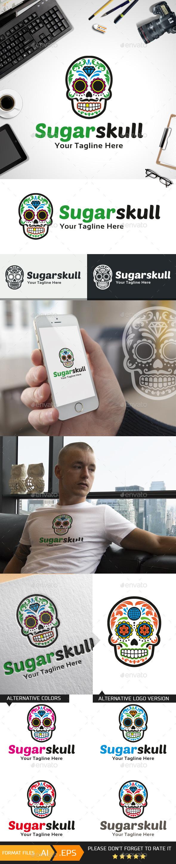 Sugar skull Logo Template - Objects Logo Templates
