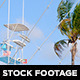 Fishing Boat and Palm Tree - VideoHive Item for Sale