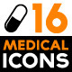 Set of Medicine Related Icons - GraphicRiver Item for Sale