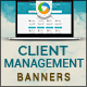 Client Management Banners