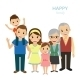 Happy Family - GraphicRiver Item for Sale