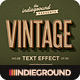 Retro Vintage Text Effects Vol. 3 - GraphicRiver Item for Sale