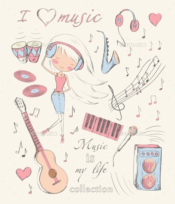 Music and Accessories - Valentines Seasons/Holidays