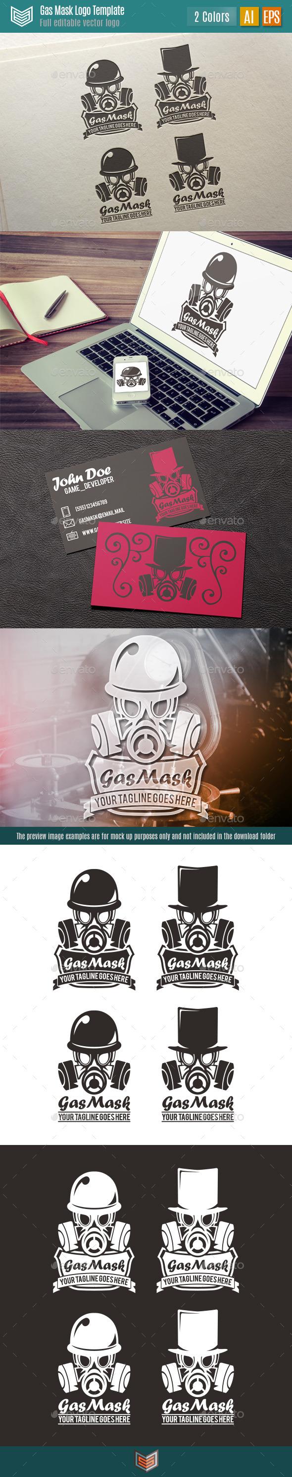 Gas Mask Logo - Symbols Logo Templates