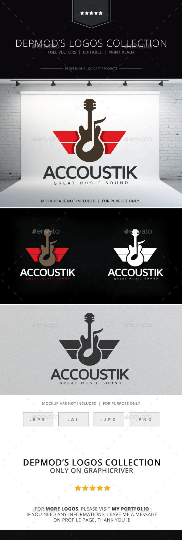 Accoustik Logo - Objects Logo Templates
