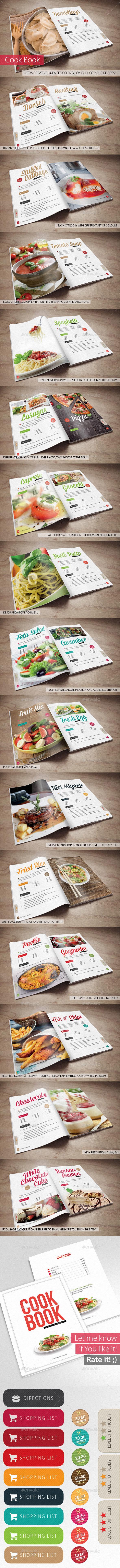 Cook Book - Your Recipes - Brochures Print Templates
