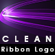 Clean Ribbon Logo - VideoHive Item for Sale