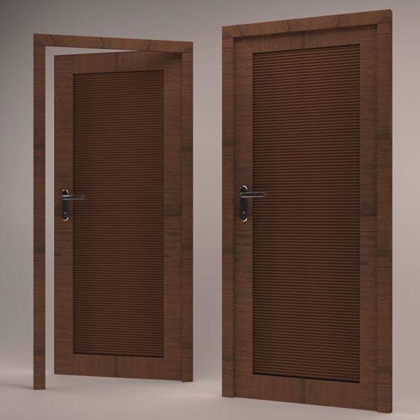 3D Modern Door  - 3DOcean Item for Sale