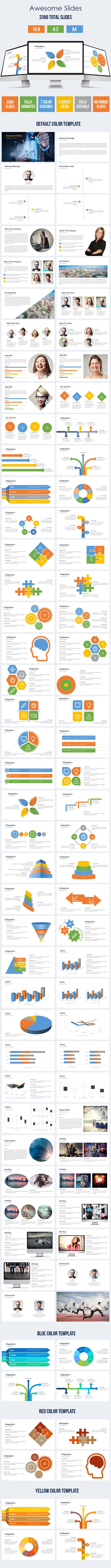 Terrano - Multipurpose Powerpoint Presentation Template - Business PowerPoint Templates