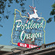 Portland Oregon Sign - VideoHive Item for Sale