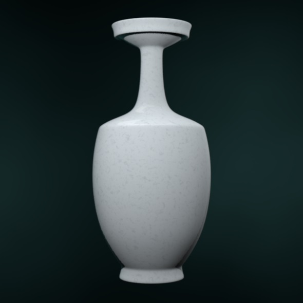 Chinese Historically Authentic Vase - 3DOcean Item for Sale