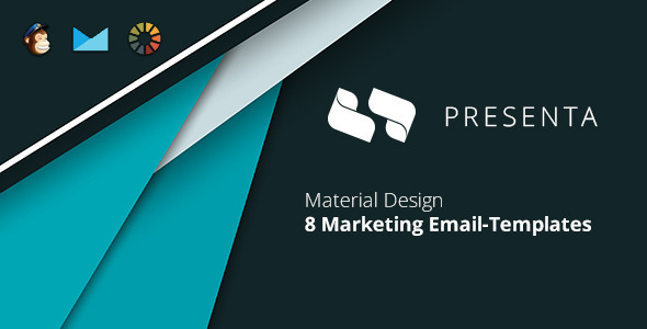 Presenta Marketing Email-Template + EmailBuilder