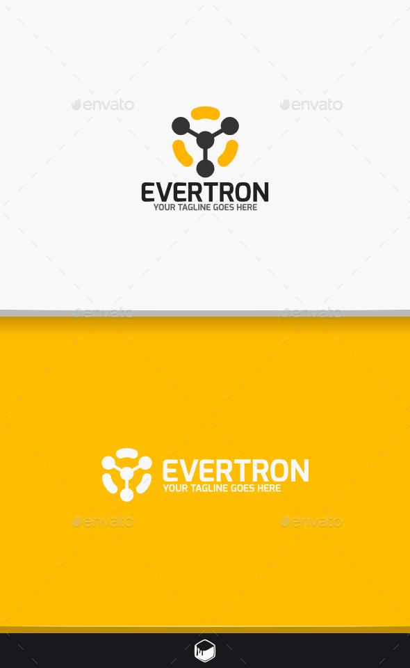 Evertron Logo - Vector Abstract