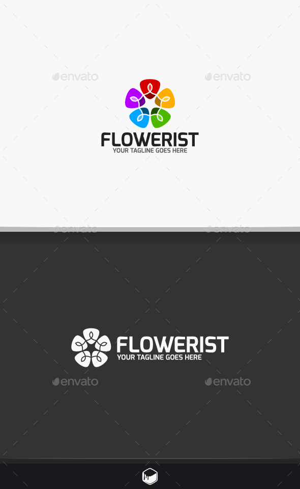Flowerist Logo - Nature Logo Templates