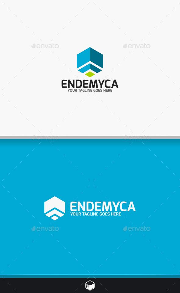 Endemyca Logo - Vector Abstract