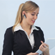 Lovely Businesswoman Talking on the Phone - VideoHive Item for Sale
