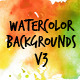 Watercolor Backgrounds 3 - GraphicRiver Item for Sale