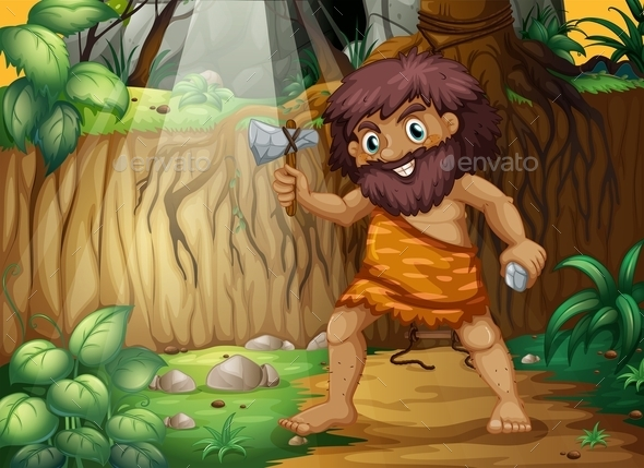 Caveman - People Characters