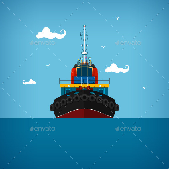 Tugboat - Industries Business