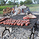 Pieces of Meat On a Barbecue - VideoHive Item for Sale