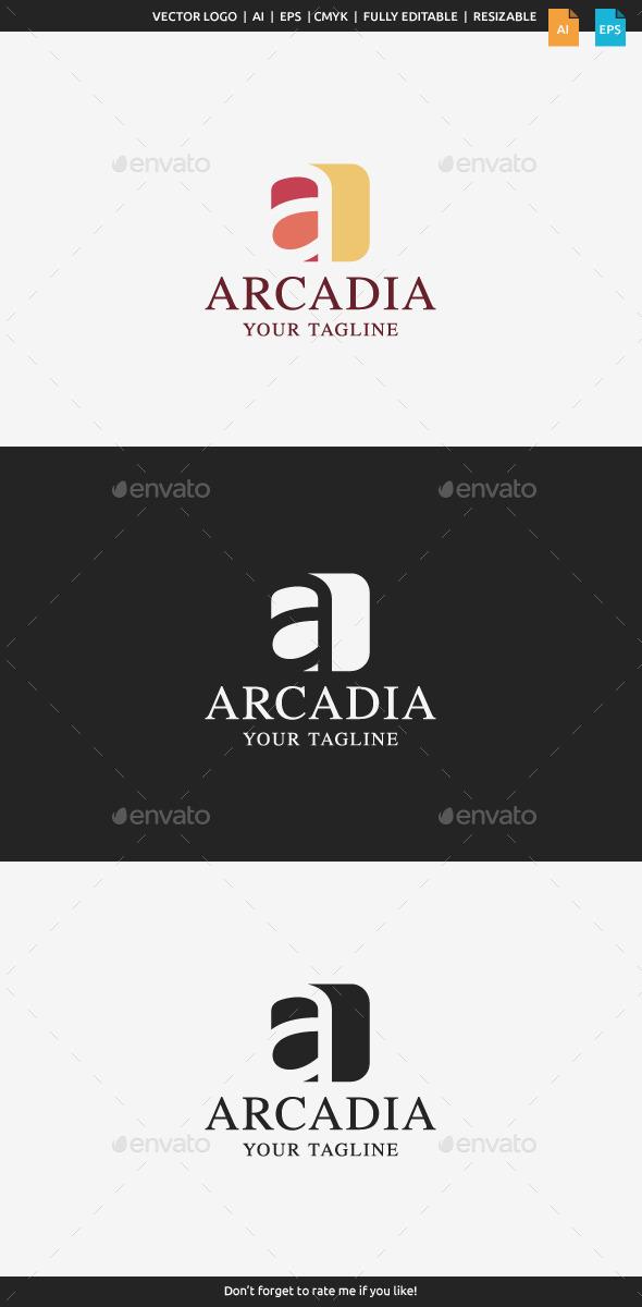 Arcadia - A Logo - Letters Logo Templates