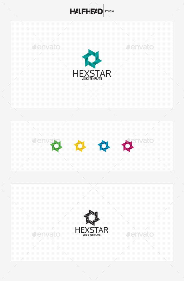 Hexstar Logo Template - Symbols Logo Templates