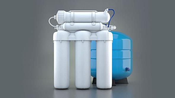 Multistage water filter Aqua - 3DOcean Item for Sale