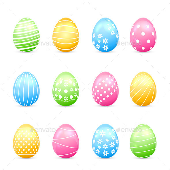Easter Eggs - Man-made Objects Objects