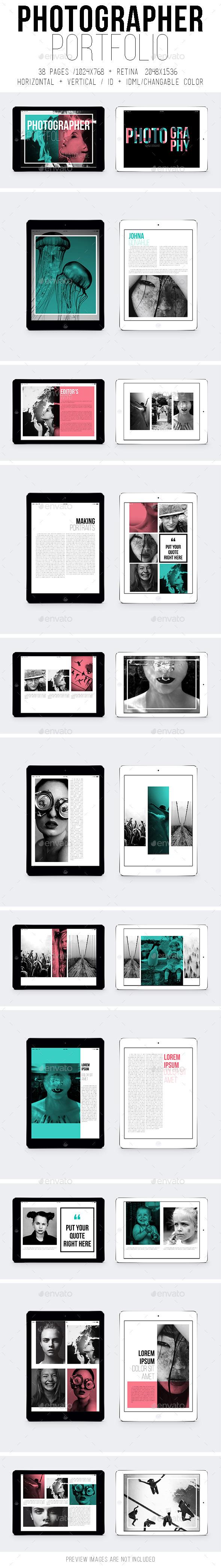 Ipad & Tablet Photographer Portfolio - Digital Magazines ePublishing