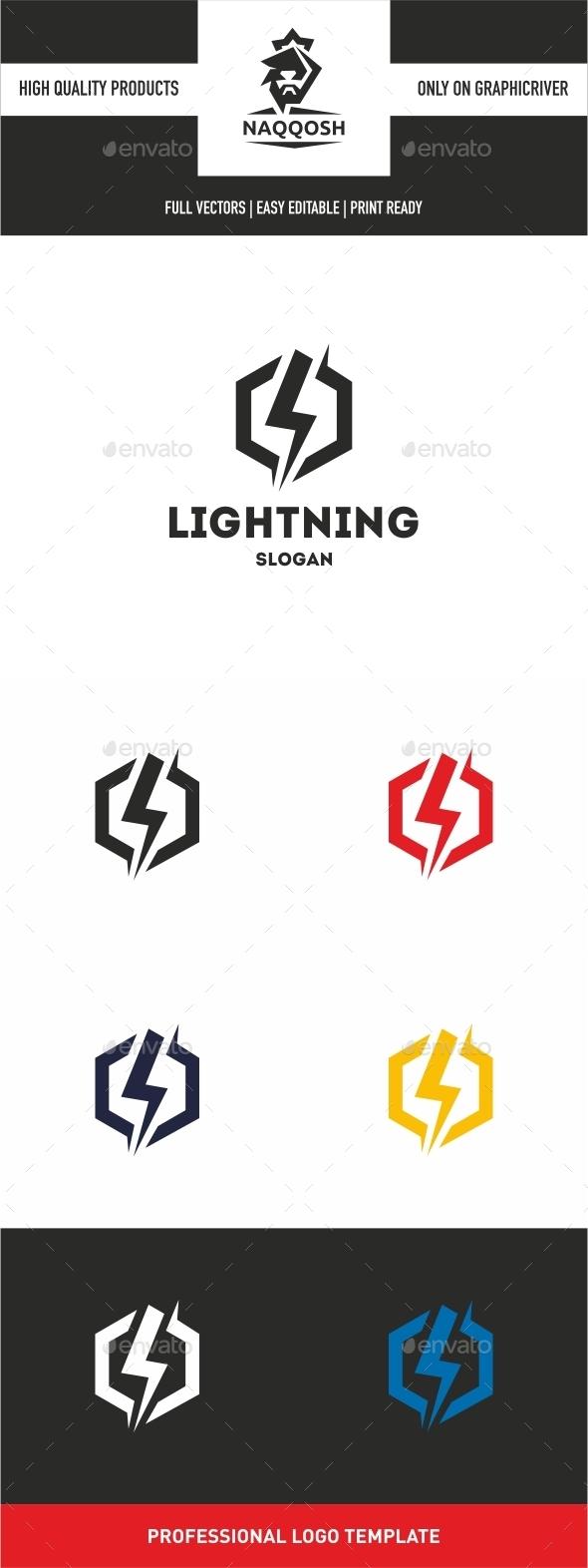 Lightning Logo - Logo Templates