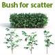30 Bush For Scatter - 3DOcean Item for Sale