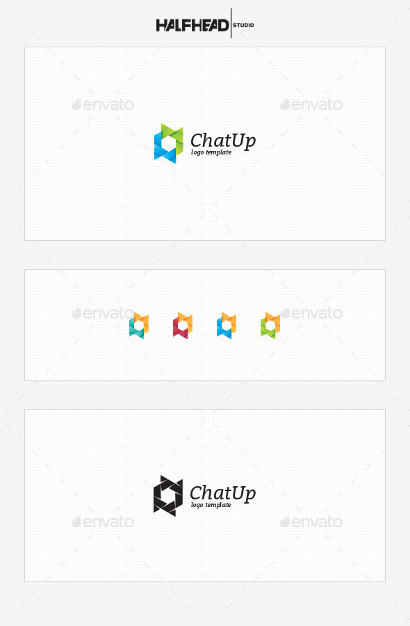 ChatUp Logo Template - Symbols Logo Templates