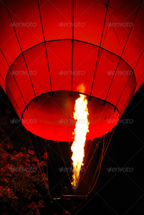 Hot air balloon - Stock Photo - Images