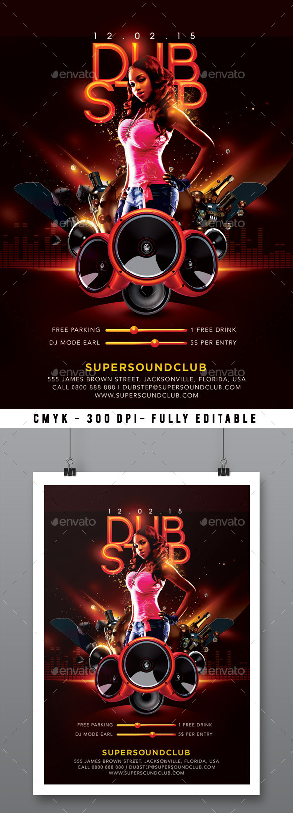 Dubstep Sound Party In Club - Clubs & Parties Events