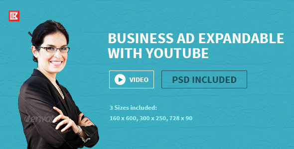 Business | HTML5 Google Ad Template Two - CodeCanyon Item for Sale