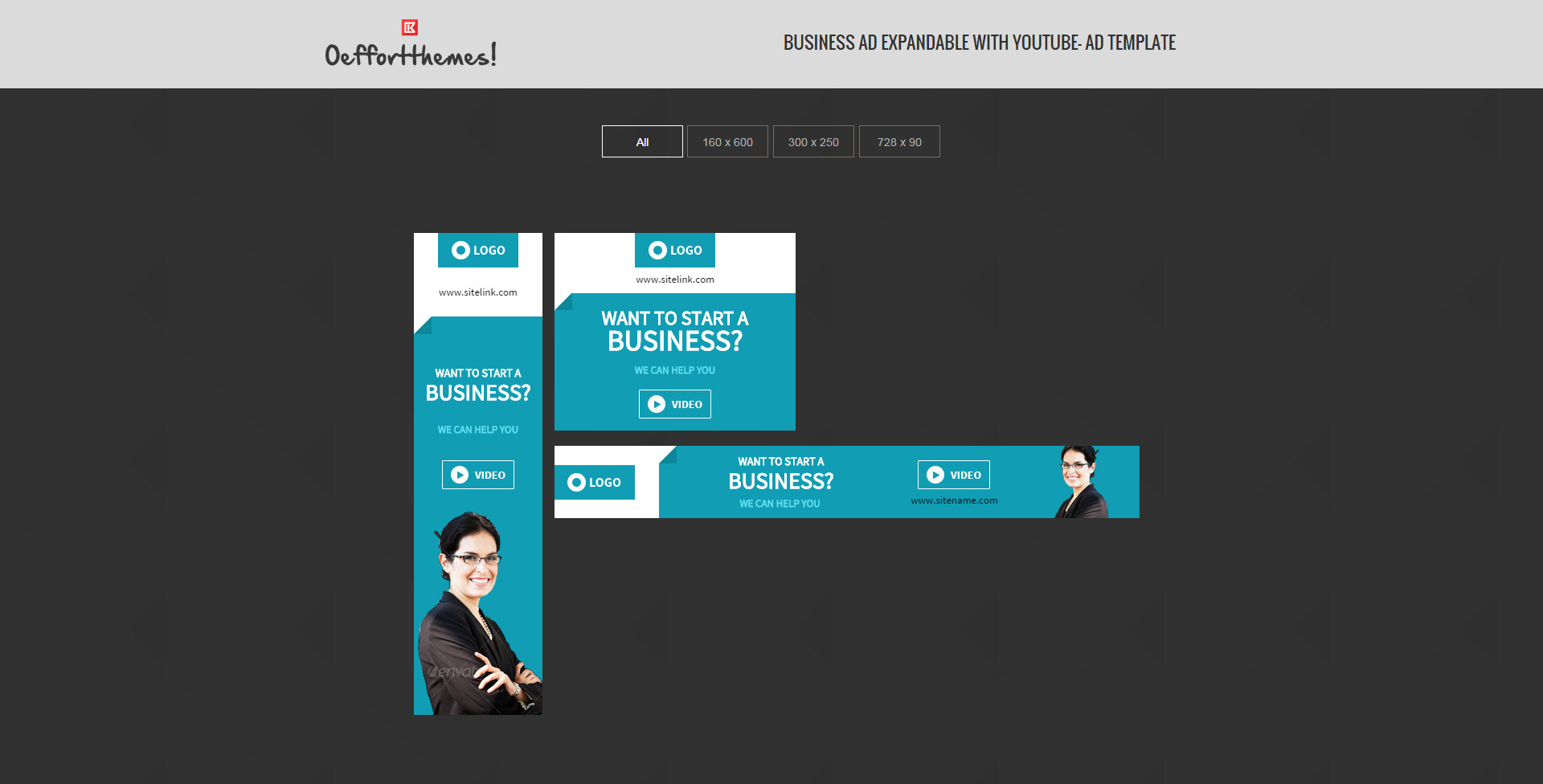 Business | HTML5 Google Ad Template Two