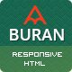 Buran - Smart Portfolio and Business HTML Template - ThemeForest Item for Sale