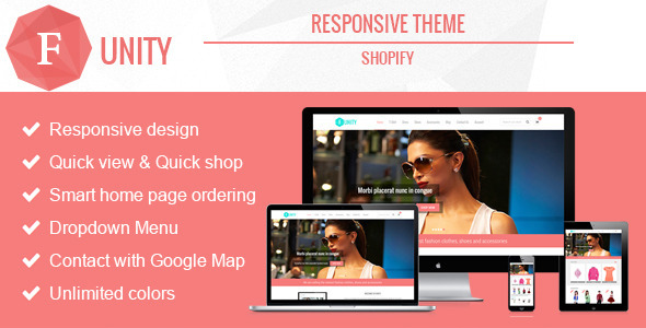 Funity – Responsive Shopify Theme