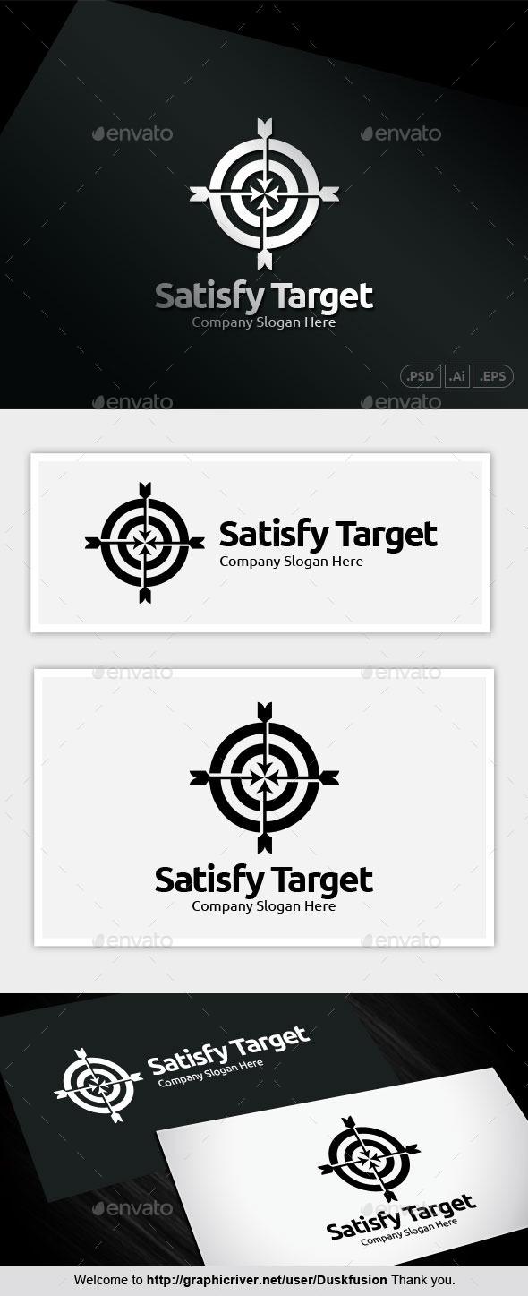 Satisfy Target - Abstract Logo Templates