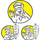 Doner Kebab Cook - GraphicRiver Item for Sale
