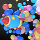 Cartoon Space Rocket Transitions with Colorful Balls Pack - VideoHive Item for Sale