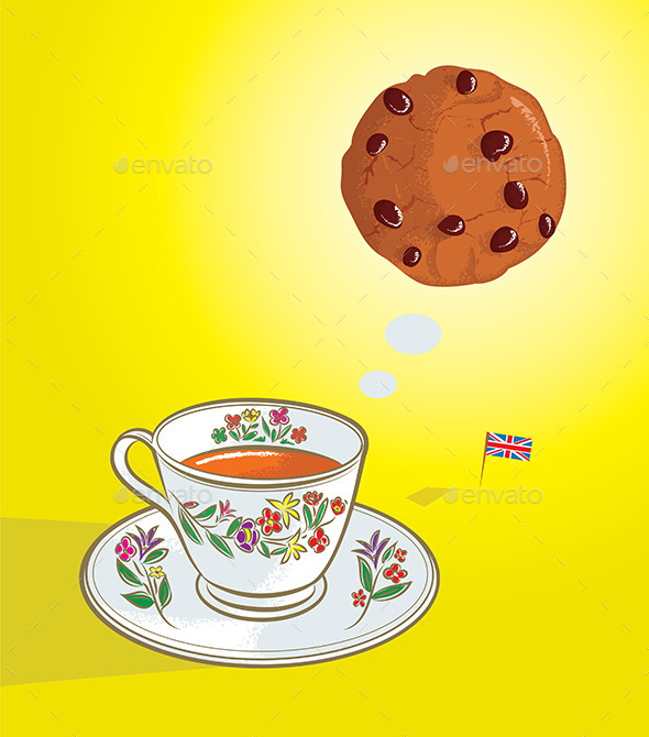 Tea Time - Food Objects