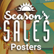 Posters - Season's Sales - GraphicRiver Item for Sale