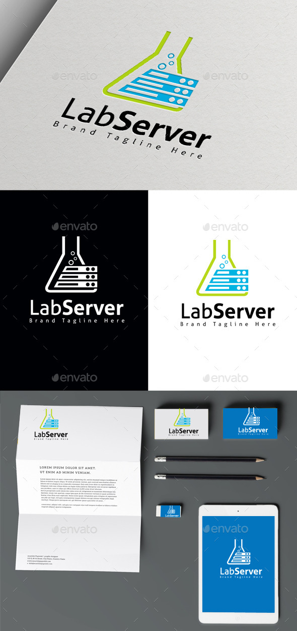 Lab Server - Symbols Logo Templates