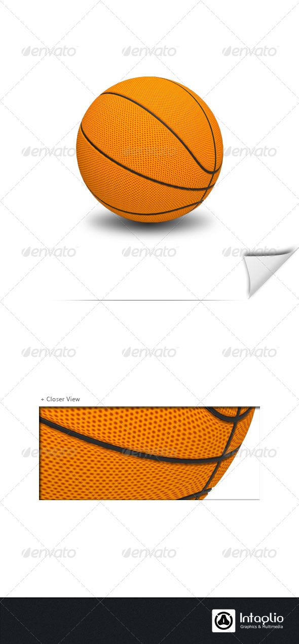 Basket Ball  - 3D Backgrounds