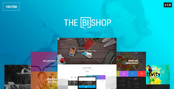 The Bishop – PSD Template