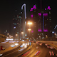 Dubai City Traffic At Night - VideoHive Item for Sale